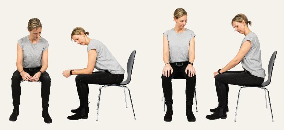 Få øvelser til afspænding og træning, der kan holde hovedpinen væk