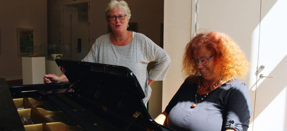 Kulutoplevelser har givet Gisela Zofia Nielsen mod på at sætte sig bag flygelet