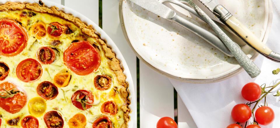 Tomattærte – let og lækkert til dine gæster