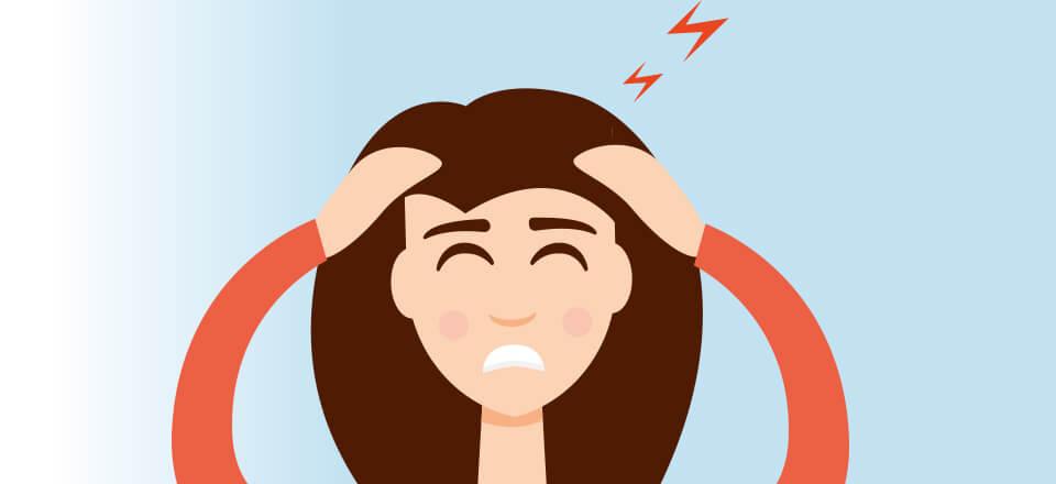kan stress påvirke synet