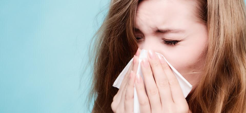 Allergi – et symptom mange lider af