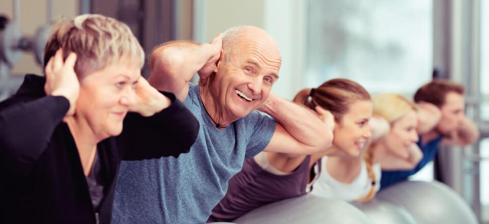 På diabetesskole lærer patienterne bl.a. hvordan træning kan gøre en stor forskel for sygdommen.