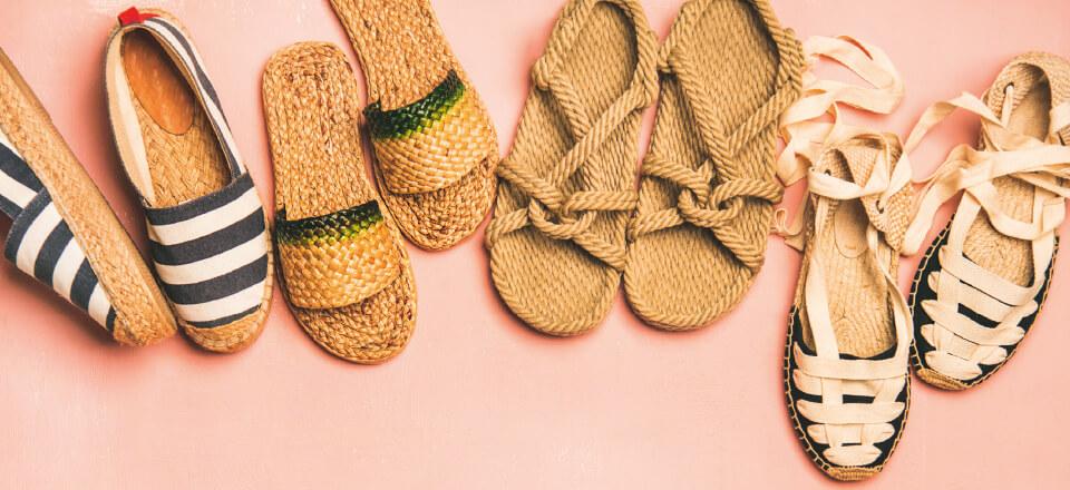 Sandaler skal ligesom dine andre sko være værd at gå i