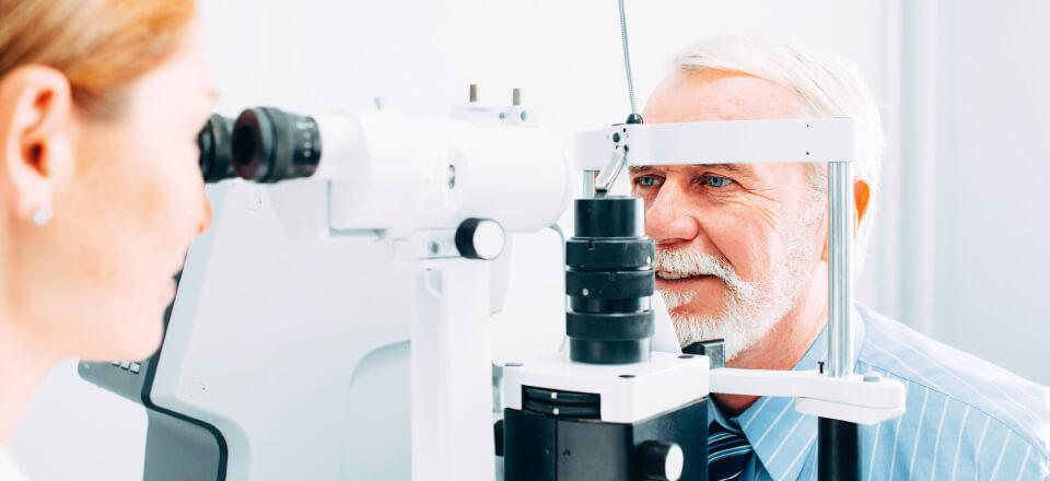 En synstest handler ikke kun om behovet for briller, den kan også fange sygdomme.