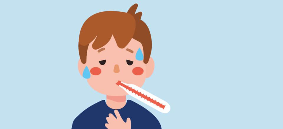 Der er sygdomme, som rammer børn oftere end andre – også de såkaldte børnesygdomme