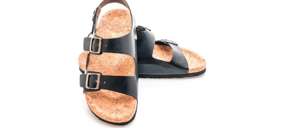 Sådan får du sunde fødder i sandaler
