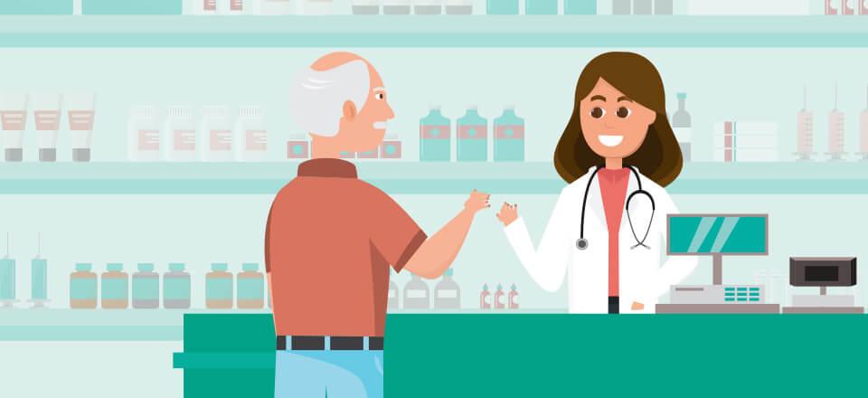 Covid-19 har halveret medicinsamtaler på apoteket
