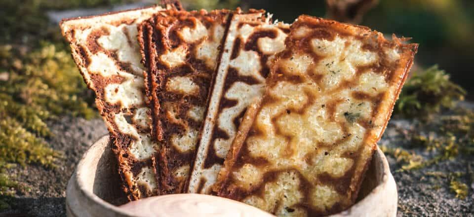 Hash browns og chilimayo
