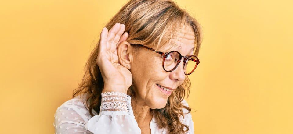 Demens: Pas ekstra godt på både syn og hørelse